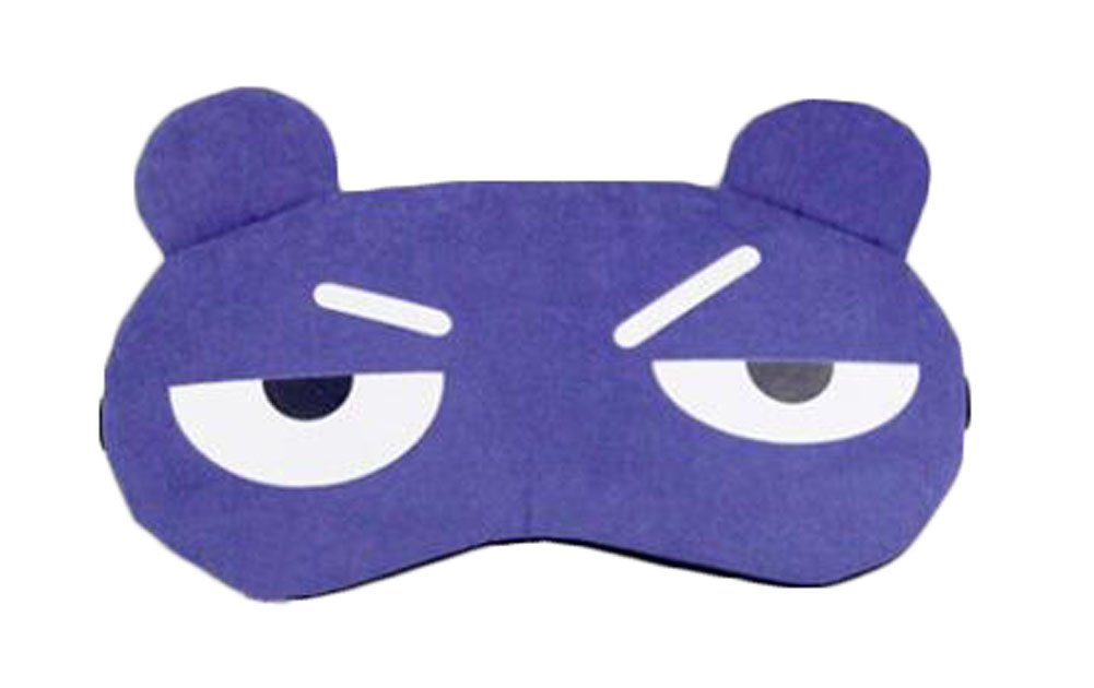 dolly2u Funny Blue Expression Eye Sleep Mask for Travelers