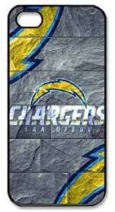 icasepersonalized Personalized Protective Case For Ipod Touch 4 Cover NFL San Diego Chargers in Stone Background