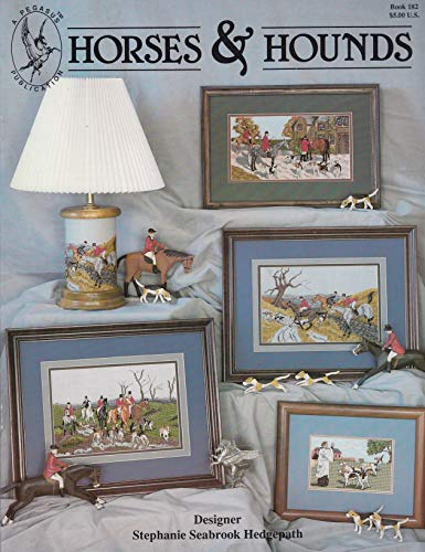 Pegasus Originals Horses and Hounds Counted Cross Stitch Leaflet