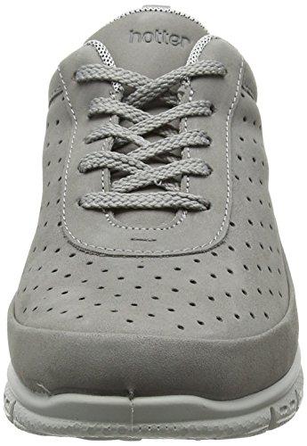 para Pebble Gris 119 Zapatillas Hotter Gravity Grey Mujer 6wqITEX