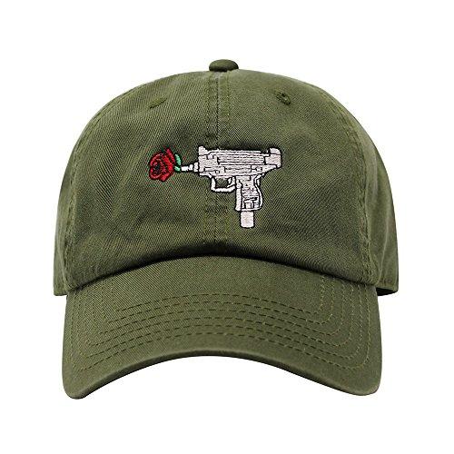 94bcd8ca Jual ChoKoLids Gun Rose Dad Hat Cotton Baseball Cap Polo Style Low ...
