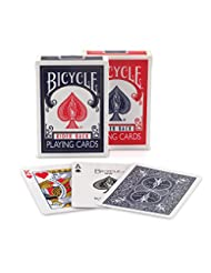 Bicycle 807 Rider Back Index Playing Cards (Assorted Colors, ...