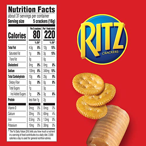 RITZ Fresh Stacks Original Crackers, 6 - 11.8 oz Boxes