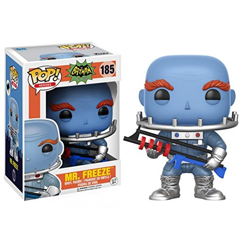 Funko POP! Vinyl DC Batman 66 Mr. Freeze Figurine No 185 by Salveo