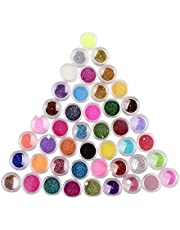 NYKKOLA Multicolor Nail Art Make Up Body Glitter Shimmer Dust Powder Decoration