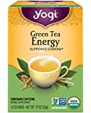 Yogi Tea, Energy Green Tea, 16 Count (Pack of 6), Packaging May Vary