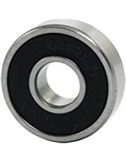 "Uxcell a11093000ux0677 608RS 8mm x 22mm x 7mm Shielded Deep Groove Ball Bearing, 0.87"" width, 0.32 Zinc Alloy"