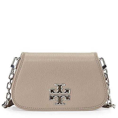 eceaec72f99a Jual Tory Burch Britten Mini Crossbody Bag Leather TB Logo - Cross ...