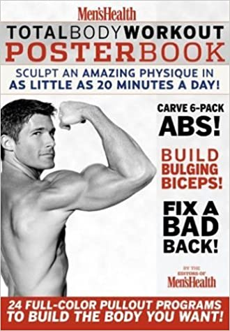 Mens Health Total Body Workout Poster Book Editors Of 9781579548612 Amazon Books