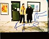 Jay & Silent Bob Strike Back - Signed 8x10 Color Photo - Signed by Kevin Smith & Jason Mewes - Signed in Blue - Obtained in Person - Rare - Collectible