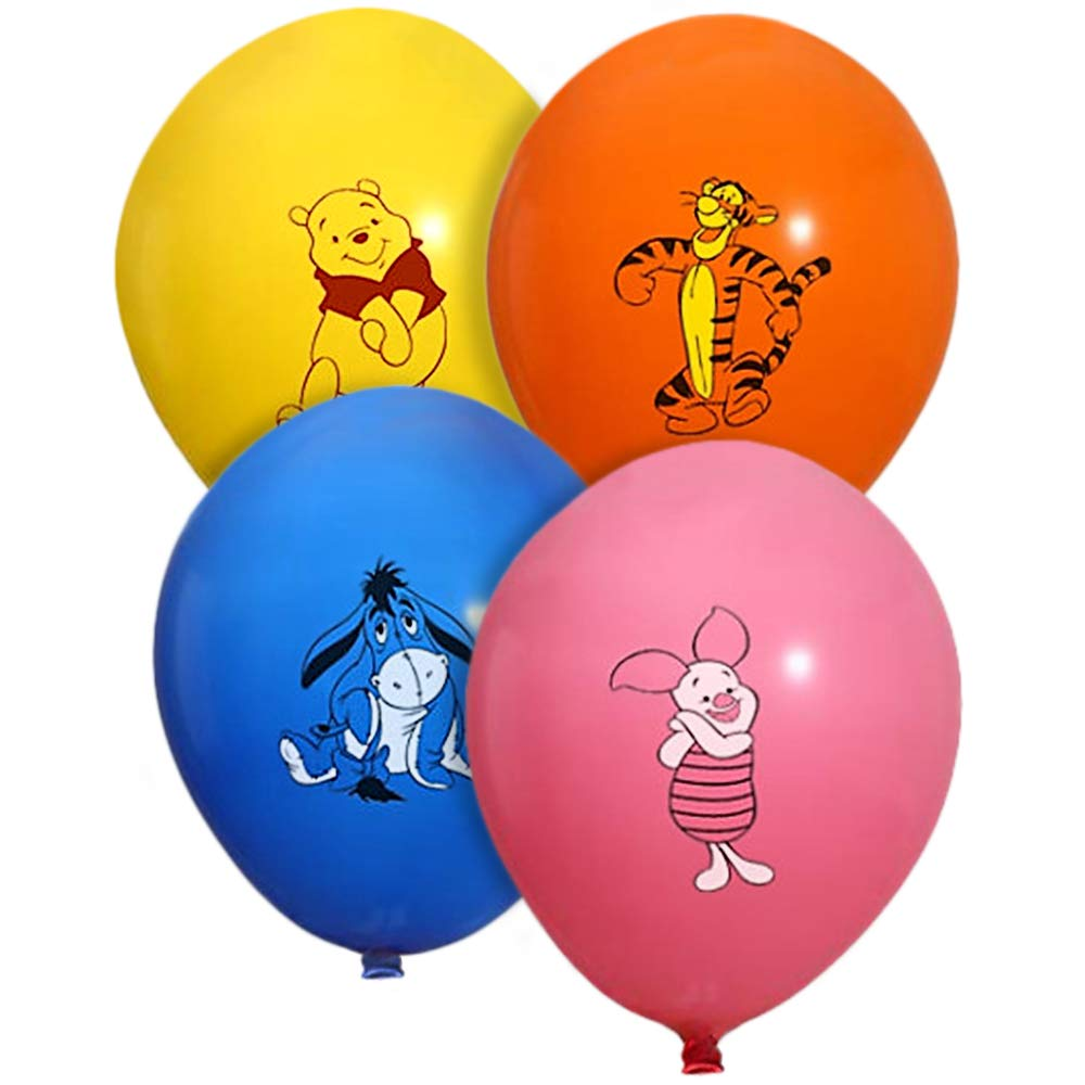 Winnie the Pooh and Friends 20 Count Party Balloon Pack - Large 12'' Latex Balloons