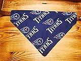 Tennessee Titans Dog Bandana No-Tie