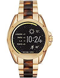 Access, Women's Smartwatch, Bradshaw Gold-Tone and Tortoise, MKT5003