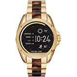Michael Kors Access, Womens Smartwatch, Bradshaw Gold-Tone and Tortoise, MKT5003