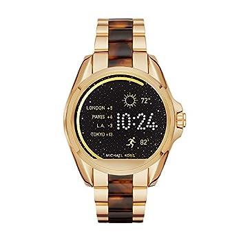 Michael Kors Access Touchscreen Gold Acetate Bradshaw Smartwatch Mkt5003 0