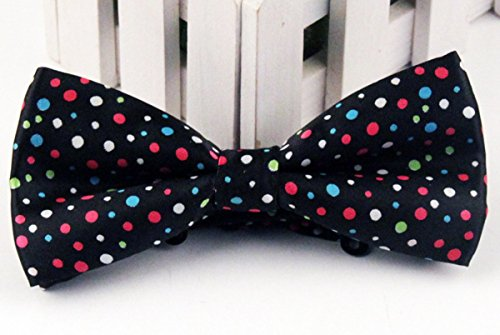 Jacquard tie Bow Cravat Colored Assorted Tuxedo Available Bowtie Mens Colors Dot 24 Pre Panegy Stripe Adjustable Tied RITBf