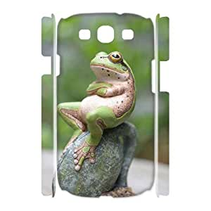 ALICASE Cover Case Frog 3D Diy For Samsung Galaxy S3 I9300 [Pattern-6]