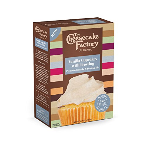 The Cheesecake Factory at Home Premium Cupcake & Frosting Mix (Vanilla)
