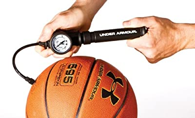 Under Armour Dual Action Ball Pump, Extra Metal Inflation Needles