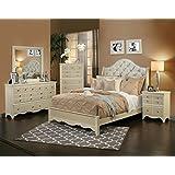 sandberg furniture 354i marilyn bedroom set eastern king