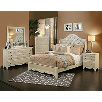 Amazon com  Signature Design by Ashley Prentice Bedroom Set with   Sandberg Furniture 354D Marilyn Bedroom Set  Queen. Bedroom Set Queen. Home Design Ideas