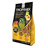 Tropimix Premium Formula for Cockatiels and Lovebirds, Enriched with Essential Vitamins and Amino Acids for Feather Growth, 2 lb Bag