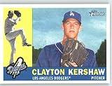 2009 Topps Heritage Baseball Card IN SCREWDOWN CASE #343 Clayton Kershaw Mint