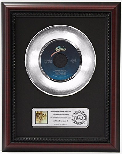 Gold Dream Record Framed (Cheap Trick Dream Police Platinum Record Framed Cherrywood Display)