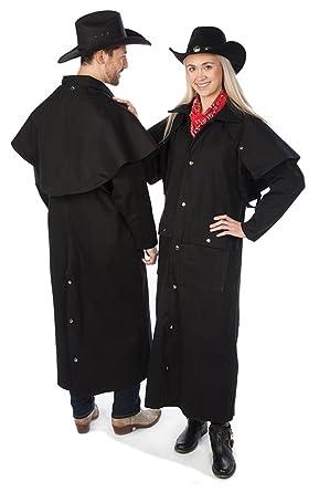 Sunrise Outlet Adult Black Denim Cotton Western Duster Jacket at ... 6a908762a688
