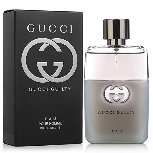 Gucci Guilty Eau Pour Homme Eau de Toilette Spray, 1.6 Ounce
