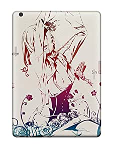 New Red Garden Skin Case Cover Shatterproof Case For Ipad Air