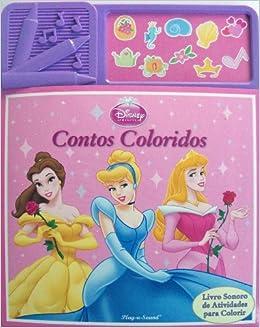 contos coloridos disney princesa 9781450832090 amazon com books