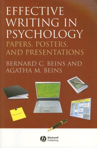 Effective Writing in Psychology: Papers, Posters,and Presentations by Beins, Bernard C., Beins, Agatha M. (2012) Paperback