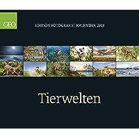 GEO-Edition: Tierwelten 2019: Posterkalender GEO