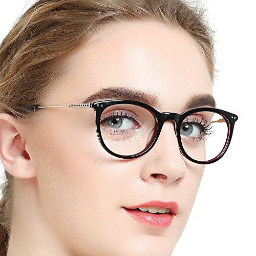edc9848c32 OCCI CHIARI Fashion Eyeglasses Frame Non Prescription Eyewear Women Men  Clear lenses Glassees