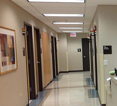 Medical Exam Room Status & Signal Flag, 8'' 2 Flag System by Omnimed (Image #3)
