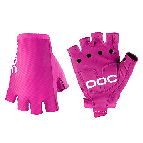 POC AVIP Short-Finger Glove - Men's Fluorescent Pink, M
