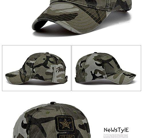New Pentagram Cap Top Quality U.S. Army Caps Men's Hunting Fishing Hat Outdoor Baseball Hats - Boss Hugo Junior