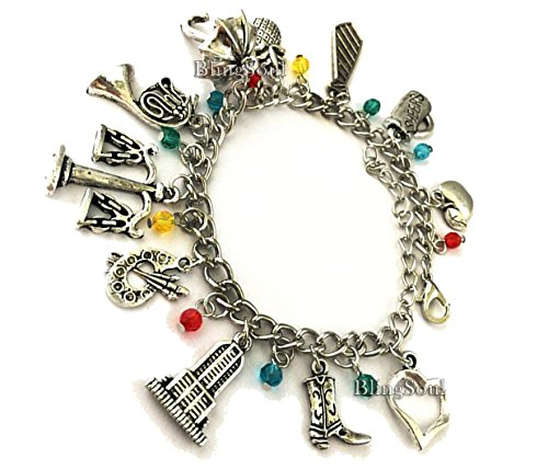 BlingSoul How I Met Your Mother Charm Bracelet Jewelry - HIMYM Accessories Gifts for Womens…