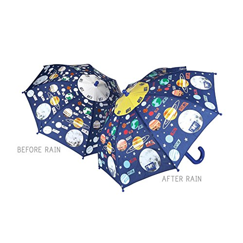 Colour Changing Umbrella - Universe / Planets Space by Floss & (Colour Changing Umbrella)