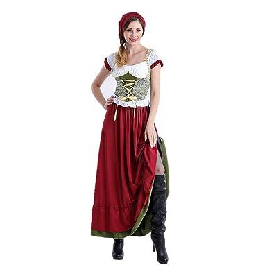 SC Halloween Ropa De Mujer Pañuelos En La Cabeza Faldas Largas ...