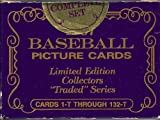 1987 Topps Tiffany Traded Factory Sealed Set 132 Cards