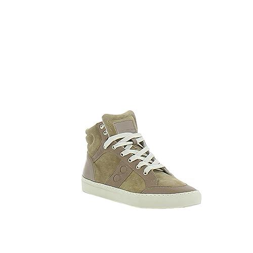 Top SMITH ALEXANDER 123CASSETTAO Camoscio Sneakers Uomo Beige Hi qRExwBOf