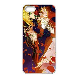 Fate Stay Night Pretty Girl Customized Design Apple Iphone 5 and 5s Hard Case Cover phone Cases Covers