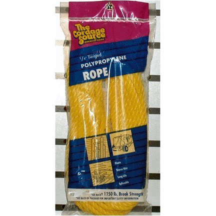 Cordage Source 361YP Twisted Poly Rope, ()