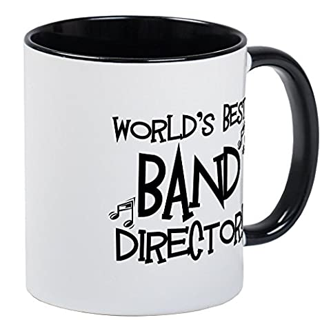 CafePress - Worlds Best Band Director Mug - Unique Coffee Mug, Coffee Cup (Marching Band Mug)