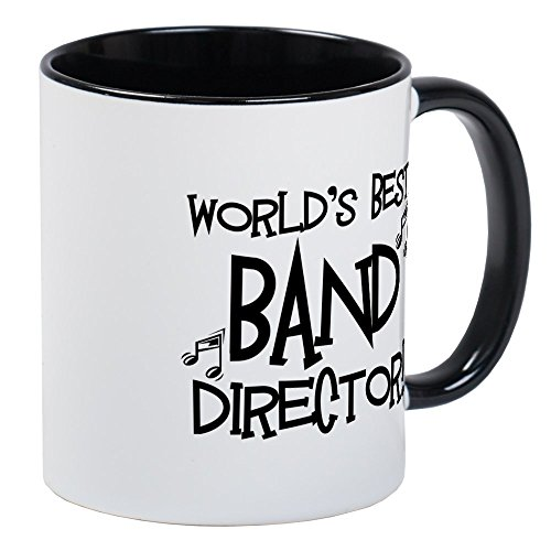 CafePress Worlds Best Band Director Mug Unique Coffee Mug, Coffee - Worlds Best Director Music