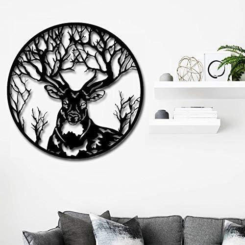 Artmyharbor Deer Metal Wall Art Sculpture