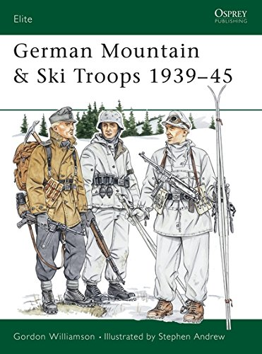 German Mountain & Ski Troops, 1939-45 (Elite)