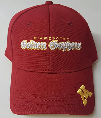 New! Minnesota Golden Gophers Embroidered Adjustable Cap by NCAA